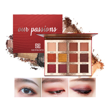 12 Color Eyeshadow Pallete Pigment Nude Makeup Pallete Eye Shadow Palette Pastel Make Up Palette Beauty Glazed Natural Cosmetics beauty glazed 9 color eyeshadow palette cosmetic matte eye shadow palette nude glitter fashion eyeshadow highly pigment makeup