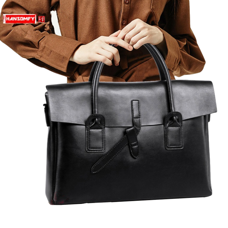 New Genuine Leather Women's Handbag Female 14