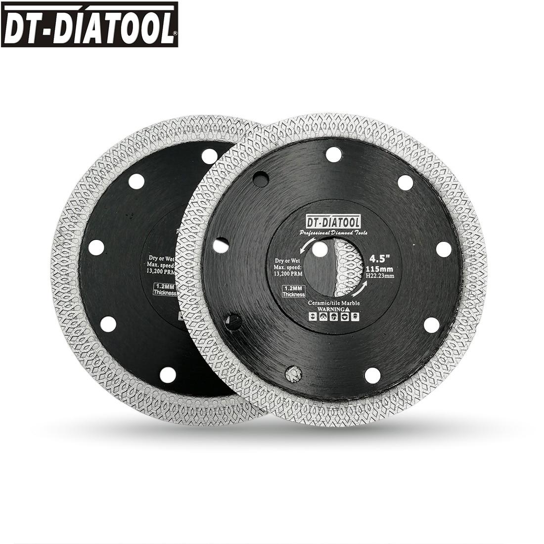 "5pcs 4.5/"" 115mm Hot pressed Mesh Turbo  Wheel Diamond Saw Blade Cutting Disc"