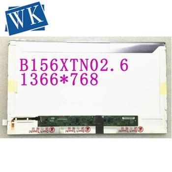 Free shipping B156XTN02.6 B156XTN01.0 CLAA156WA12 LP156WH4 TPA1 Laptop LCD Screen 1366*768 EDP 30 pins