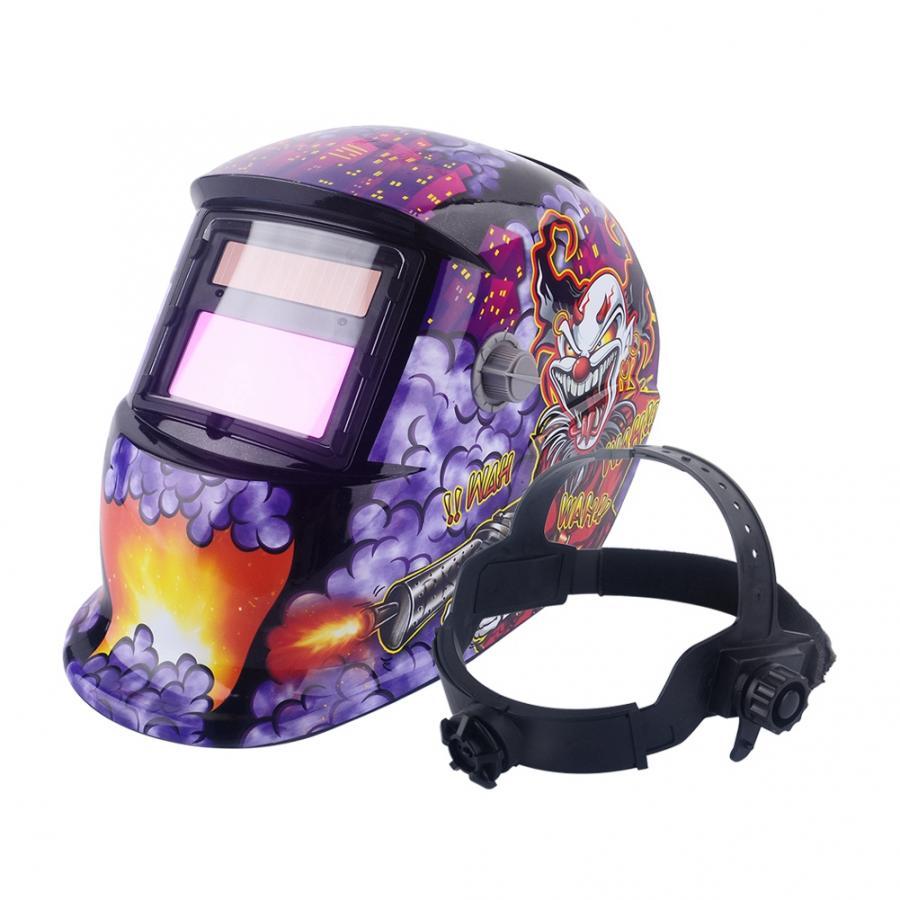 Auto Darkening Welding Helmet Mask Welders Arc Tig Mig Grinding Solar Powered Welding Mask Accessories Domestic Delivery