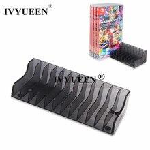 Ivyueen 1 Pcs Voor Nintend Schakelaar Ns Console Game Kaart Opbergdoos Standhouder Voor Nintendoswitch Lite Schijven Kaarthouder stand