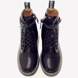 Image 4 - Doratasia 2020 빅 사이즈 43 패션 오토바이 부츠 브랜드 디자인 발목 부츠 여성 신발 신발 끈 멋진 신발 여성 부츠 여성