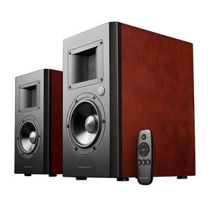 Bookshelf Speaker Subwoofer-Output Bluetooth Airpulse A200 Remote-Control Active