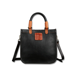 Image 4 - Johnature Designer Handbags High Quality 2020 New Retro Genuine Leather Handmade Women Tote Luxury Shoulder & Crossbody Bags