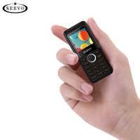 SERVO M25 HD mini Telefon bluetooth Dialer magische stimme one key recorder Dual Sim vibration kleine handy Russische sprache