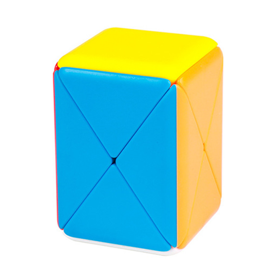 MOYU Container Puzzle Stickerless Skew Magic Cube Container Puzzle 1x2x2 Cube Educational Toys For Kids Children