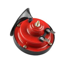 1 Pair Car And Motorcycle Electric Car Horn Snail Whistle Horn 12V Air Tweeter 4 Inch Horn Universal
