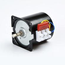 Synchronous Motor 60KTYZ 14W Gear Motor 2.5/5/10/15/20/30/50rpm AC Gear Motor 68ktyz 68 ktyz 28w ac 220v permanent magnet synchronous gear motor 2 5rpm 5rpm 10rpm 15rpm 20rpm 30rpm adjustable direction
