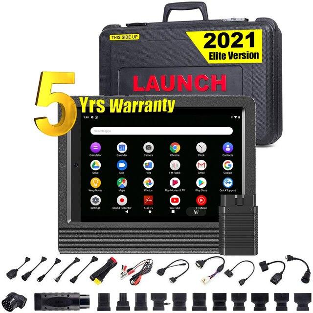 LAUNCH – X431 V V4.0 mini scanner de voiture professionnel, outil de Diagnostic automobile, système complet, lecteur de Code OBD, OBD2