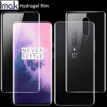Imak Película de hidrogel 3 III para Oneplus 7 Pro 6T 6, protector frontal y trasero de pantalla, OLEOFÓBICO transparente