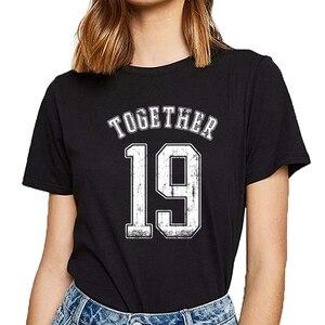 Топы, футболка, Женская забавная пара, питьевая, вечерние, с похмельем, базовая, черная, короткая, женская футболка