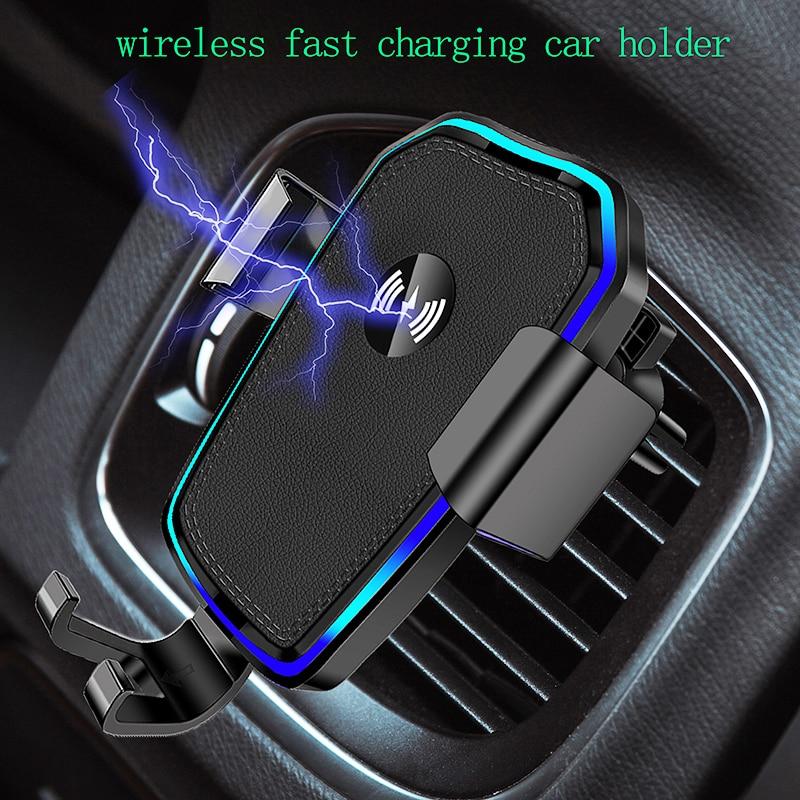 Автомобильный держатель для телефона, подставка для телефона в автомобиль, устойчивый Фиксированный кронштейн, поддержка гравитационного ...