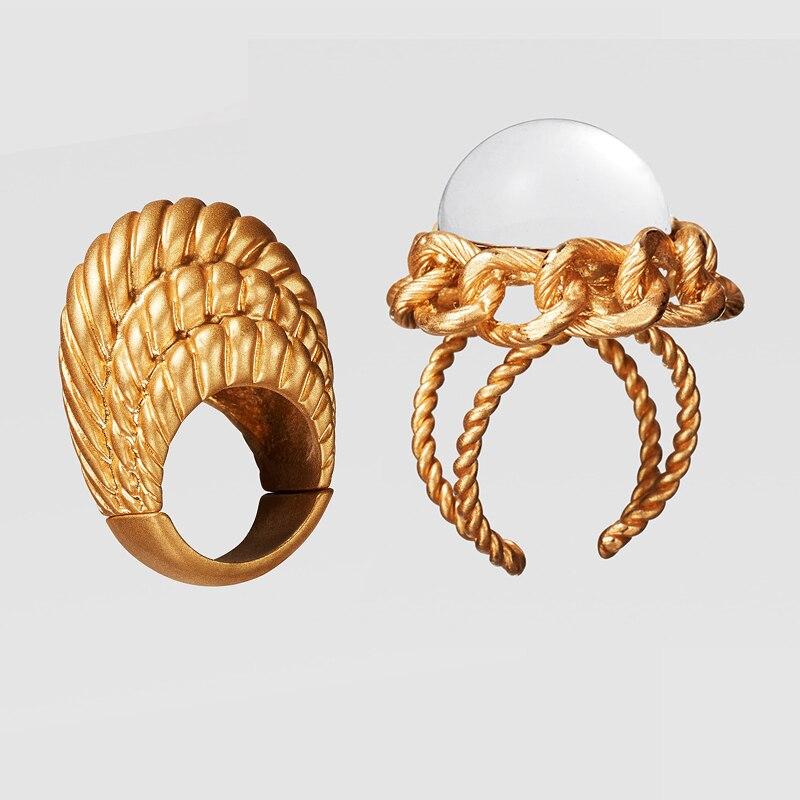 Dvacaman ZA, золотое ожерелье на цепочке, Чокеры для женщин, металлическое круглое звено, массивное ожерелье, s макси панк, модные вечерние ювелирные изделия - Окраска металла: 20