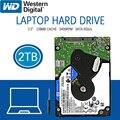 Жесткий диск WD 2 ТБ для ноутбука, синий диск для компьютера, внутренний жесткий диск HD, SATA III, 128 Мб кэш-памяти, 5400 об/мин, 2,5 дюйма для ноутбука PS4