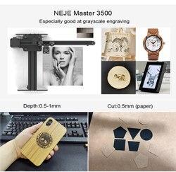NEJE Master 3500MW 43*27cm Mini Laser Engraving Machine 2Axis DIY Engraver Desktop Wood Router/Cutter/Printer+ Laser Goggles