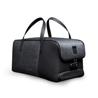 Korin Design FlexPack GO Anti theft Duffle Bag Men Travel Bag USB Charging /Foldable Shoulder &Handbag Waterproof Luggage Bag