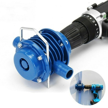 Blue Self-Priming Dc Pumping Self-Priming Centrifugal Pump Household Small Pumping Hand Electric Drill Water Pump water pump hand drill pump self priming pump home household convenient blue practical