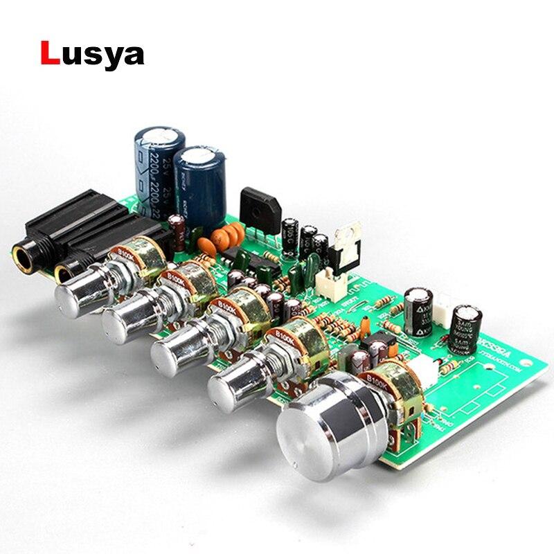 Цифровой микрофон усилитель Tone Board PT2399 караоке реверберации преусилитель доска двойной AC12-15V D3-011