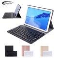 Bluetooth клавиатура чехол для huawei Mediapad T5 10 10 1 AGS2-L09 AGS2-W09 AGS2-L03 корпус клавиатуры для huawei T5 10 кожаный чехол