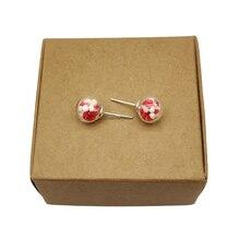 Красные розовые белые babysbreat настоящие цветы серебро 925