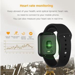 Image 3 - جهاز تتبع اللياقة البدنية P80 جهاز مراقبة معدل ضربات القلب شاشة كاملة تعمل باللمس سوار ذكي دعوة تذكير الرياضة الصحة الفرقة آيفون شاومي
