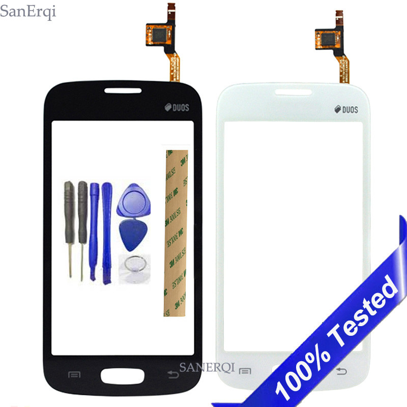 For <font><b>Samsung</b></font> Galaxy DUOS Star Advance <font><b>G350E</b></font> <font><b>SM</b></font>-<font><b>G350E</b></font> <font><b>Touch</b></font> <font><b>Screen</b></font> Digitizer Sensor Outer Front Glass Lens Panel 4.3