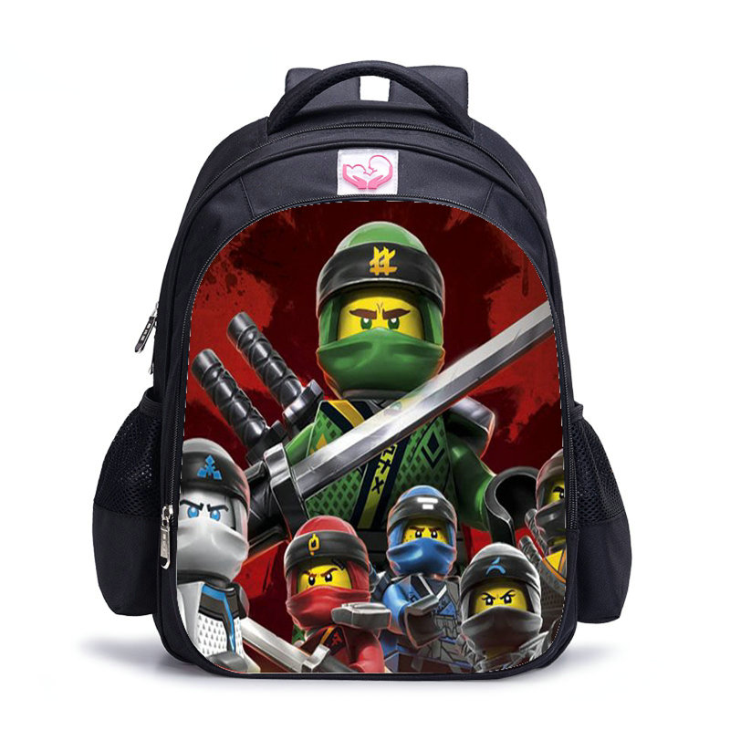 Hot Game Lego Ninjago Cartoon Backpack Boys Cartoon School Bags Hot Primary Backpack School Bags For Boys Mochila Pikachu