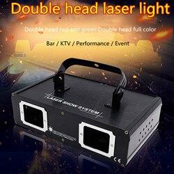 Luz de disco láser dj de alto brillo, luz RGB de escaneo de haz lazer DMX 512, iluminación profesional para Fiesta de DJ, Show Club, vacaciones, casa, Bar