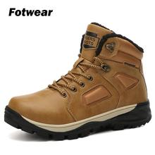Fotwwear Mens Boots Winter Boots British Trend Men outdoor winter Boots Retro Men's Boots Tide Tooling Shoes Fashion Male Shoes martin boots men 2018 new outdoor lovers boots high help tooling shoes british round head men s boots trend 10