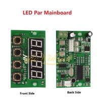 10pcs Motherboard for LED Par Light Stage Lighting Mainboard Display Board LCD Prolight Accessory
