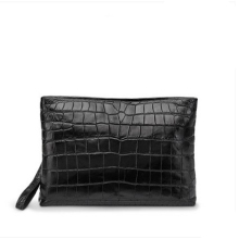 gete Men's bag new envelope bag men's leather grasp bag leisure men's crocodile skin hand bag belly bag man clutch bag