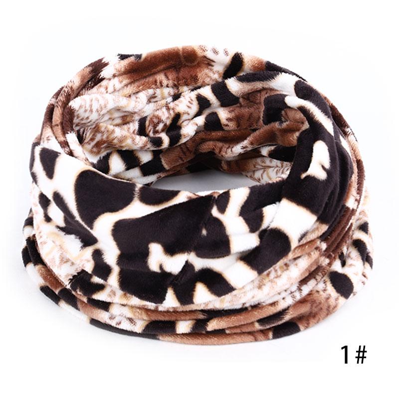 Новинка, осенне-зимний женский шарф с принтом для женщин, модный бархатный тканевый шарф, мягкий удобный женский винтажный шарф - Цвет: 1