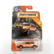 VOLKSWAGENs GOLF MK 1 Matchbox Cars 1:64 Metal Diecast Alloy Model Car Toy Vehicles