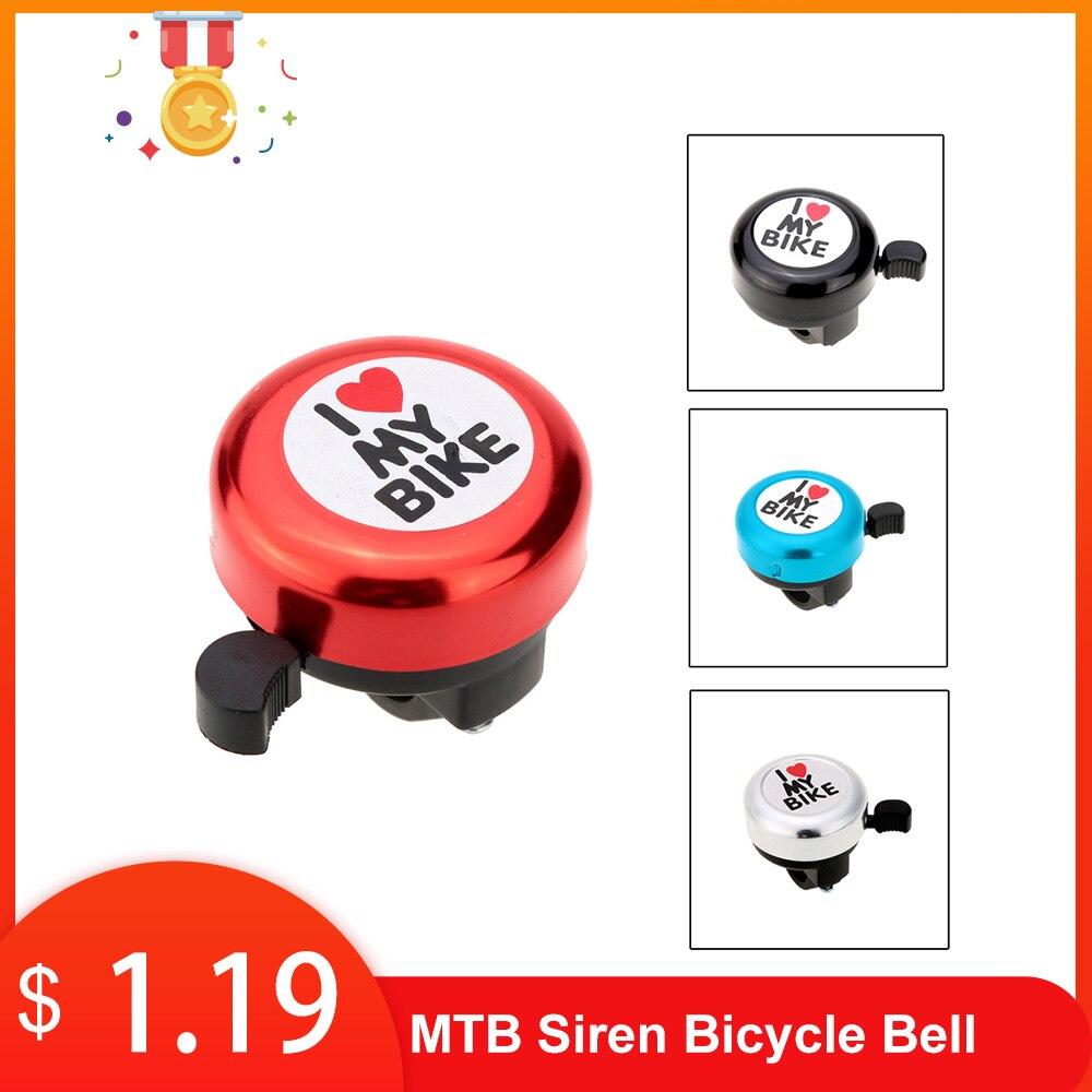 MTB сирена для велосипеда колокол открытый велосипедный руль четкий звук громкий звуковой сигнал Пластик Цикл Рог сигнализации Предупрежде...