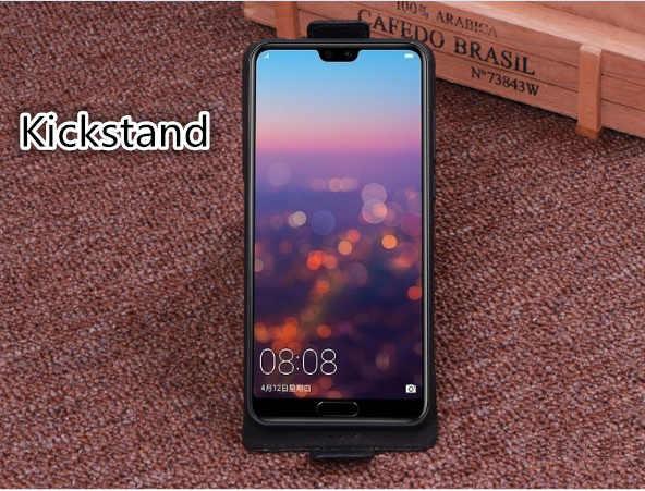 本革ビジネス垂直フリップ電話ケース OPPO Realme X2 プロ/Realme X2/OPPO リノ 2Z 電話上下垂直ケース