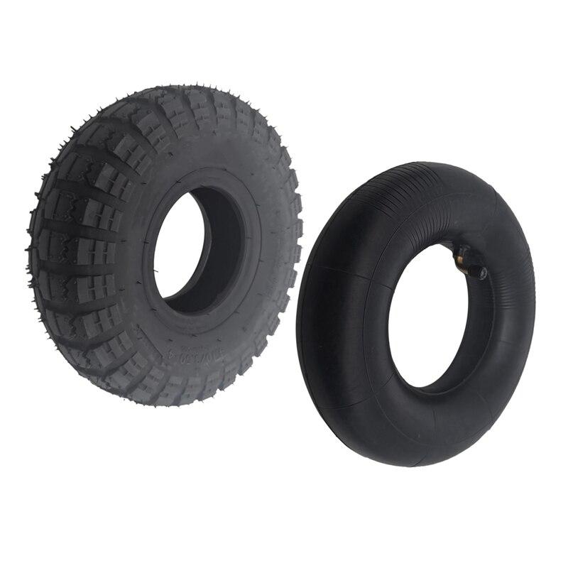 4.10/3.50 4 410/350 4 ATV Quad Go Kart 47Cc 49Cc Chunky 4.10 4 Tire Inner Tube Fit All Models 3.50 4 4 inch Tire Tires     - title=