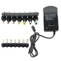 Courant alternatif 220V alimentation universelle 3v 4.5v 6v 9V 12V 3A transformateur d'alimentation électrique adaptateur d'alimentation réglable pour lampe à LED