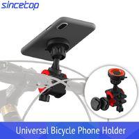 Universal de montagem rápida para suporte do telefone da bicicleta titular clipe pode girado suporte para iphone para huawei para sumsung celular