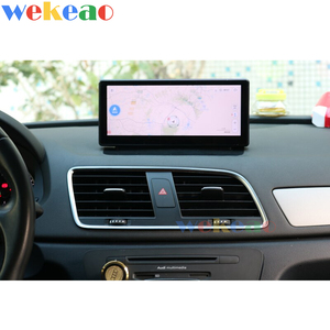 """Image 5 - Wekeao 10.25"""" Touch Screen Android 10.0 Car Dvd Multimedia Player For Audi Q3 Car Radio Automotivo Auto GPS Stereo 4G 2013 2018"""