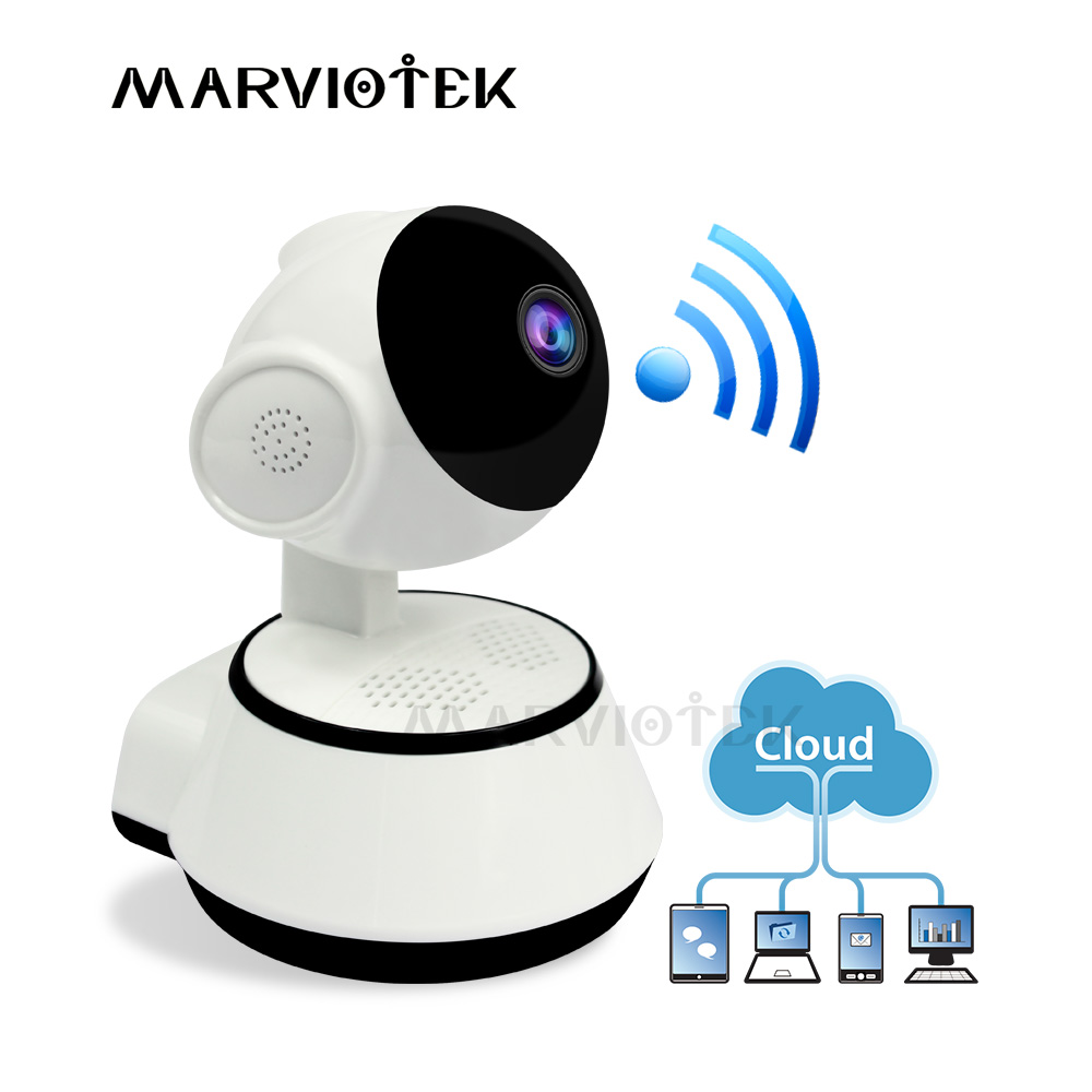 Wireless Baby Monitor WiFi IP Camera 720P Wireless Smart Baby Camera WiFi Audio Video Record Surveillance Home Security Camera image
