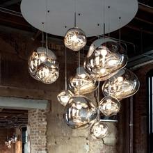 цены Nordic Glass Lava E27 Pendant Lights Lighting Pendant Lamps for Home Decor Living Room Bar Cafe Loft Kitchen Fixtures Hanglamp