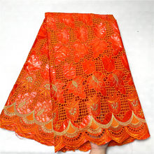 Tela africana bazin riche con brode, última moda, bordado de encaje bazin, tela con encaje de red, 2,5 yardas, 2L073104
