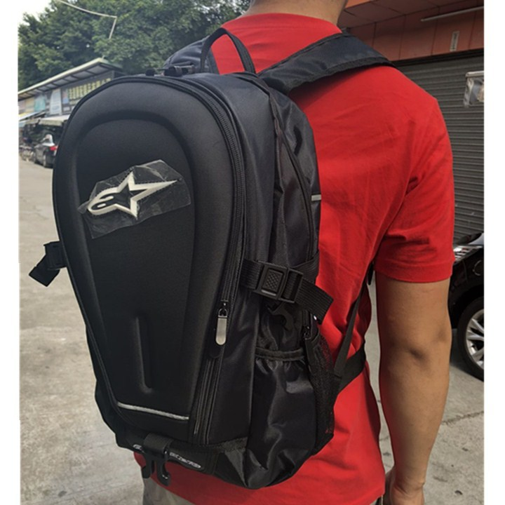 Ghost Claw Shoulder Helmet Backpack Motorcycle Racing Package Knight Only Bag Long Distance Outdoor Sports A Star Rides Luggage