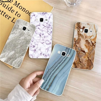 Marble 2 Silicon Soft TPU Case Cover For Samsung Galaxy Core Grand Prime Neo Plus 2 G360 G530 I9060 G7106 Note 3 4 5 8 9 image