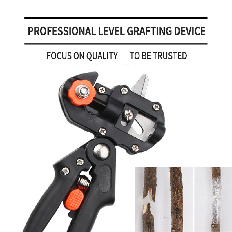 Garden Grafting Clippers Tool Pruner Kit for Fruit Tree Grafting 1Set Professional Pruner Kit Plant Pruning Shears Scissor Knife 1