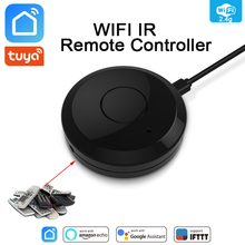 Tuya WiFi IR Remote Control Hub WiFi Smart Home Infrared Universal Remote Controller Air Conditioner TV For Alexa Google Home