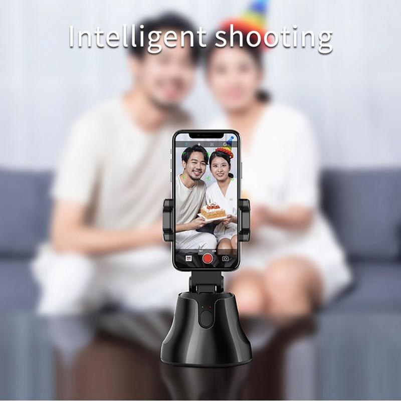 Smartphone Gimbal 360° Face Photo Follow Up Phone For Vlog Live Video Record Real-time Target Tracking Shooting For Phone