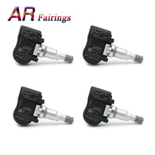4 PIECE 52933 3N100 TPMS Tire Pressure Sensor Monitor Systems Wheels Tires Part For Hyundai Accent Genesis Coupe For Kia Sorento