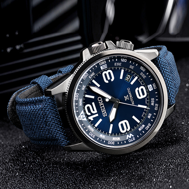 Image 4 - SEIKO brand official original product PROSPEX series watch men automatic mechanical watch casual fashion waterproof wristwatch-in Sports Watches from Watches